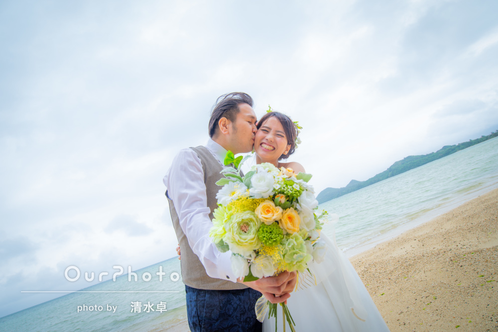 「楽しい時間に」沖縄石垣島でウェディングフォトと家族写真