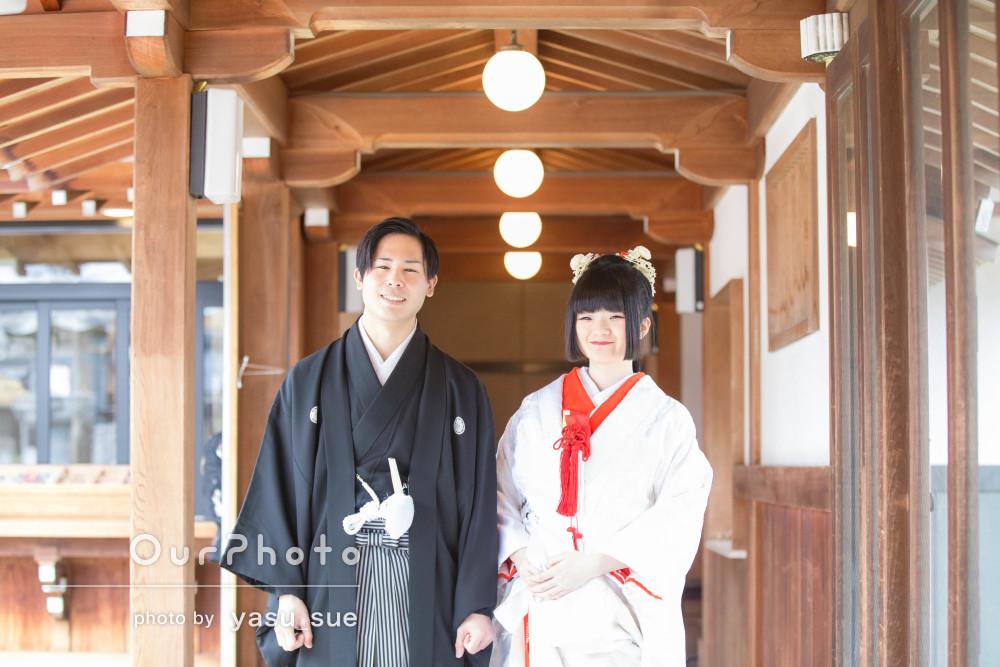 神前式に出張撮影!幸せ満開の神社での結婚式の撮影