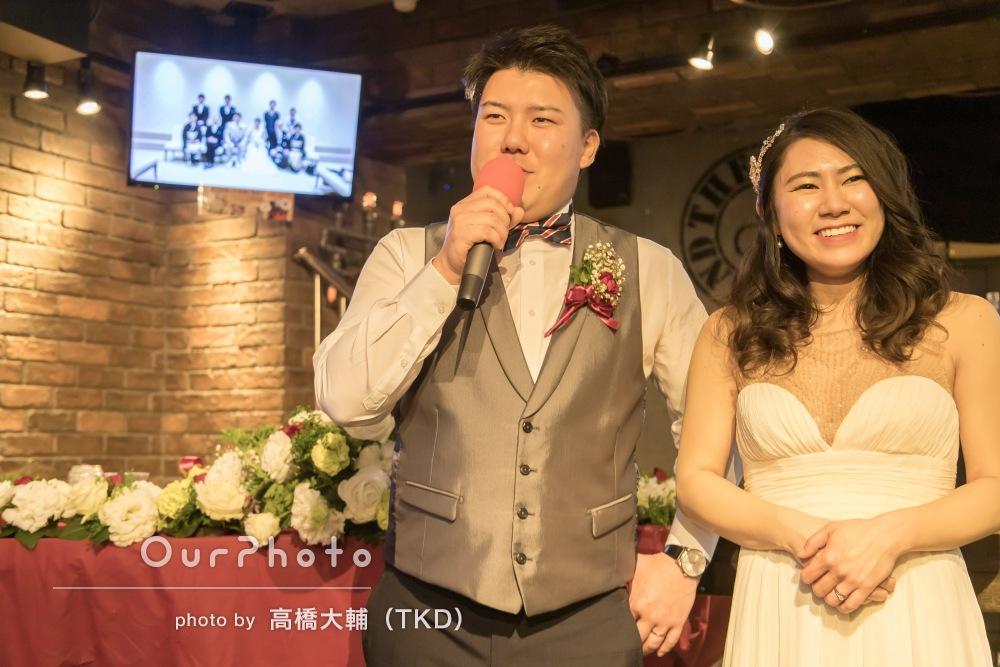 幸せな時間を閉じ込める!結婚式の二次会の撮影