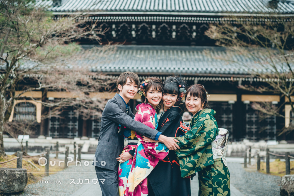 「言葉ではうまく言い表せないくらい、想い出深い時間」大人の家族写真