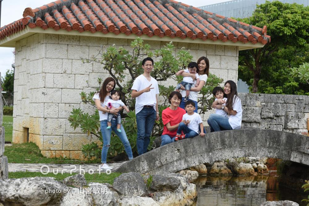 「やり取りも丁寧で安心できました」還暦祝いに家族写真の撮影