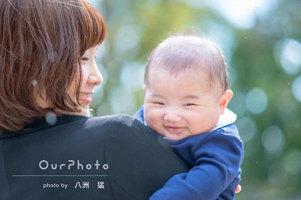 赤ちゃんへの愛情たっぷり!お宮参りとお食い初めの記念写真