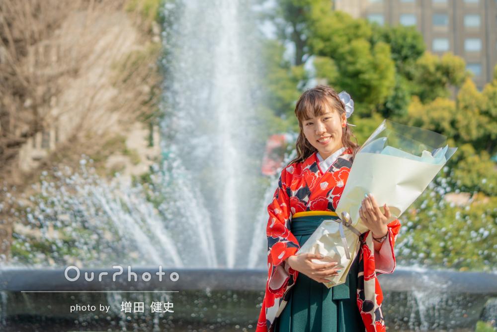 「思い出がかたちに」袴姿で新たな旅立ちにプロフィール写真の撮影