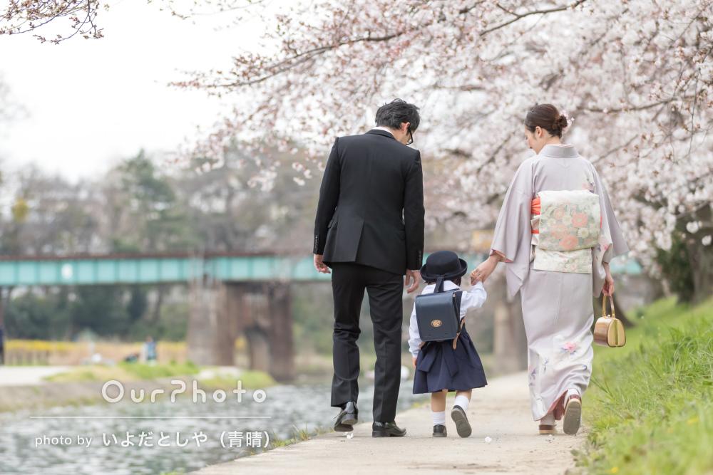 「今回もどれも素晴らしい写真ばかり」七五三に続き入園記念の写真撮影