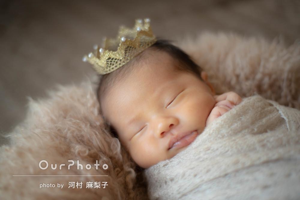 生まれたての赤ちゃんがキュート♡ふんわり優しいニューボーンフォト