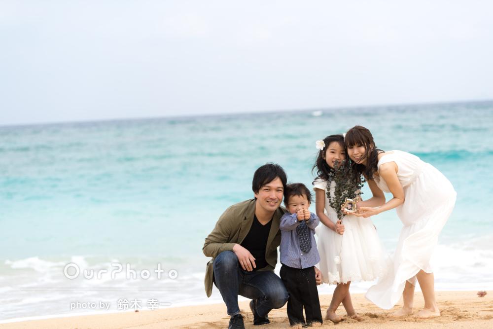 「撮影が旅の大切な思い出の1つとなりました」家族旅行の撮影