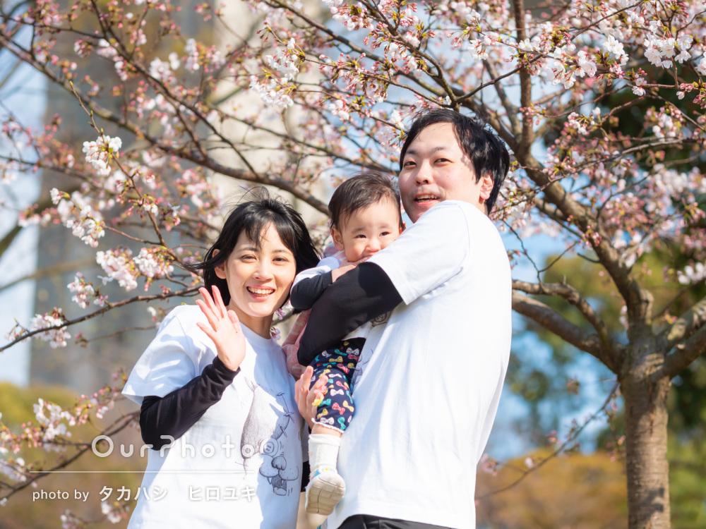 「安心して任せられ思い切り楽しむことができました」家族写真の撮影