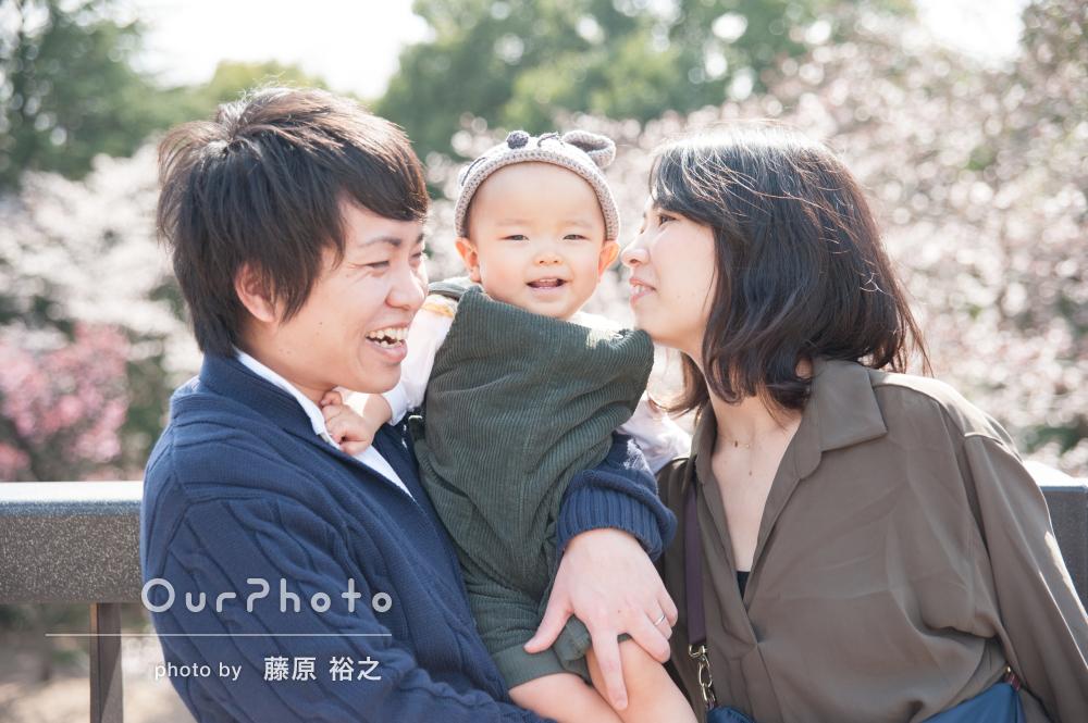 「今回も楽しく素敵な時間が過ごせました」リピーターさんの家族写真撮影