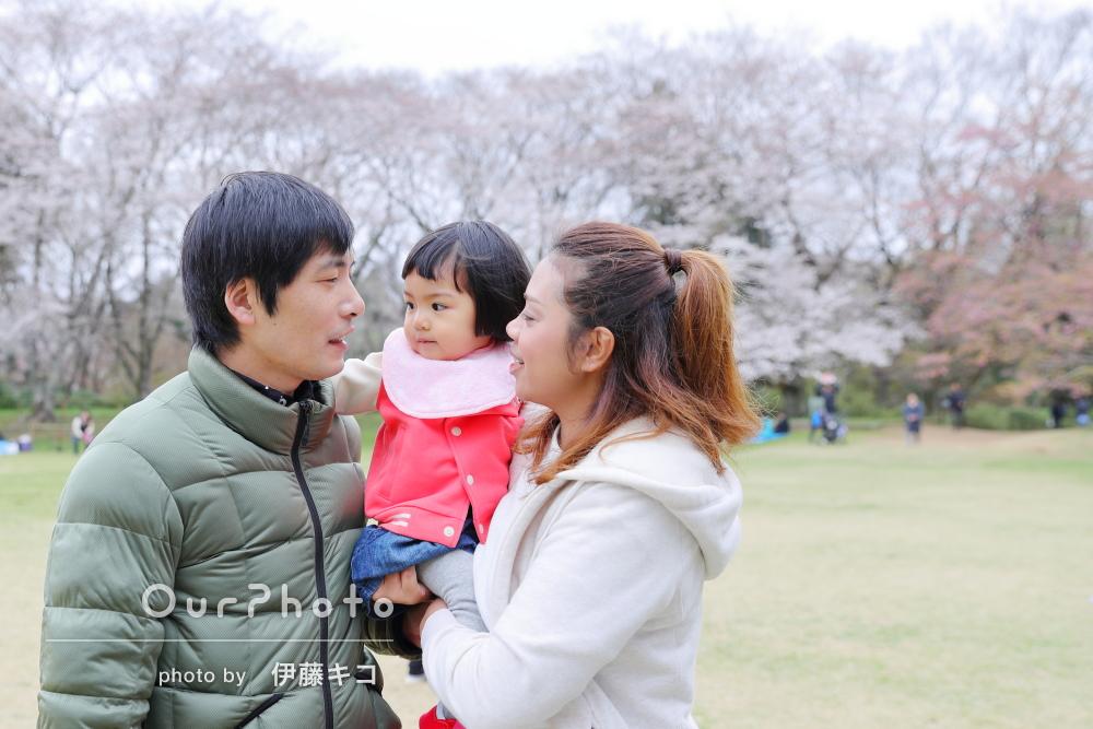 「いろいろ提案してくださって嬉しかった」楽しい雰囲気の家族写真