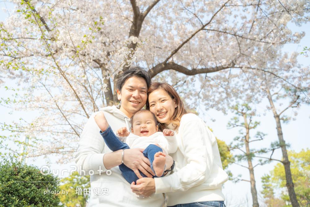 「自然体な方で全く緊張せずに撮影して頂けました」家族写真の撮影
