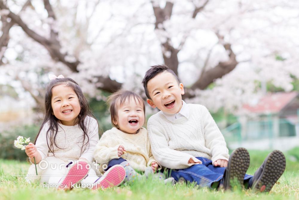 「もっと前から依頼してみたらよかった」自然な笑顔溢れる入学記念撮影