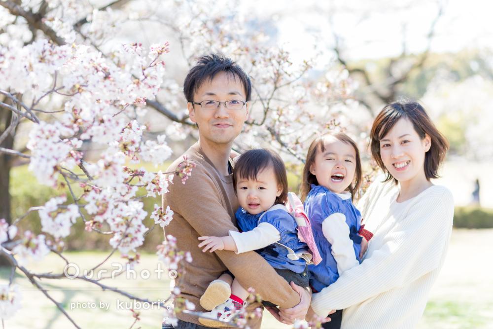 「娘2人が自然な笑顔を見せてくれました」家族写真の撮影