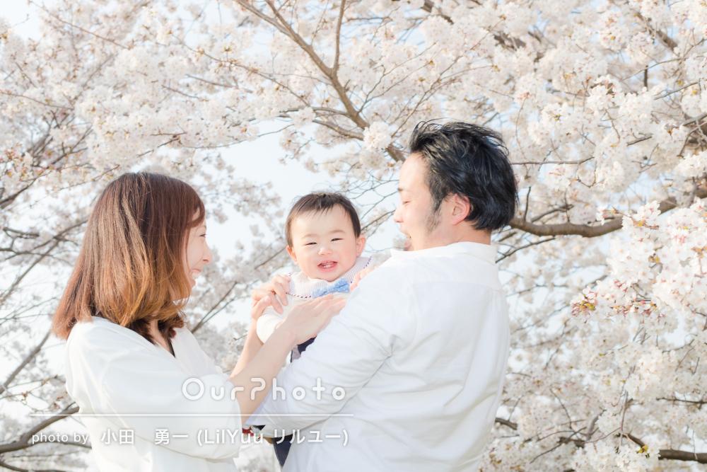 「笑顔の写真を残すことができて良かったです」家族写真の撮影