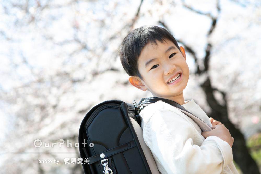 「見る度に幸せな気持ちになります」入学記念の撮影