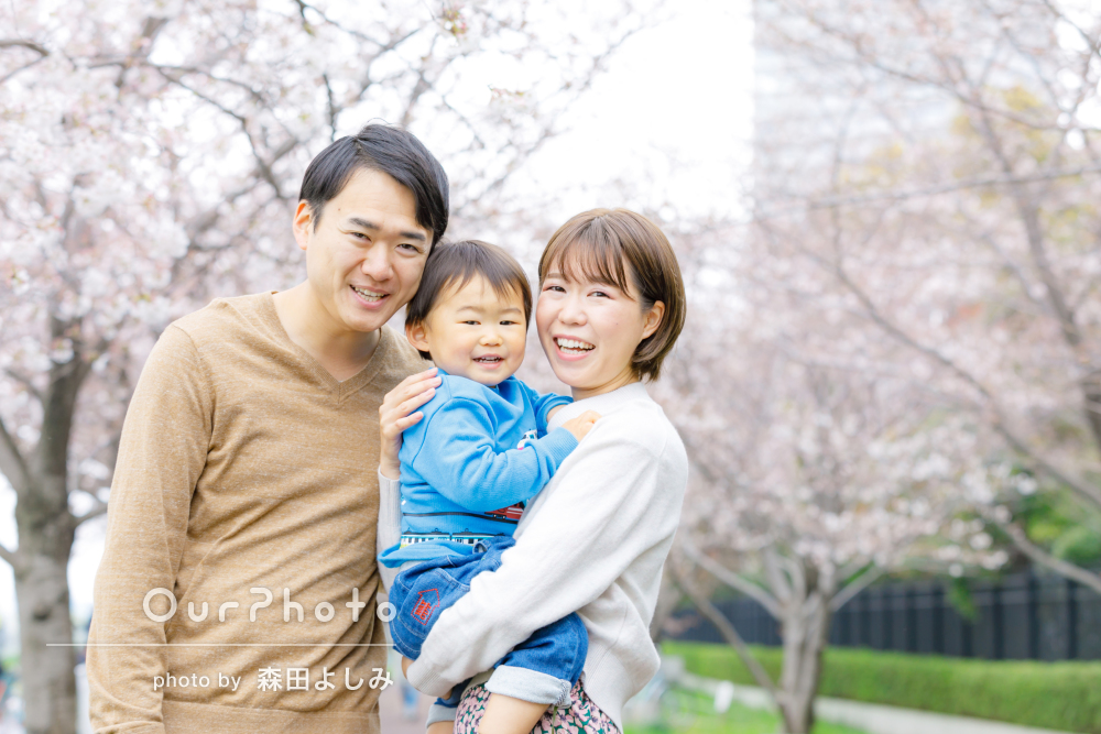 「この先見返しても当時の様子がよくわかる写真ばかり」家族写真の撮影
