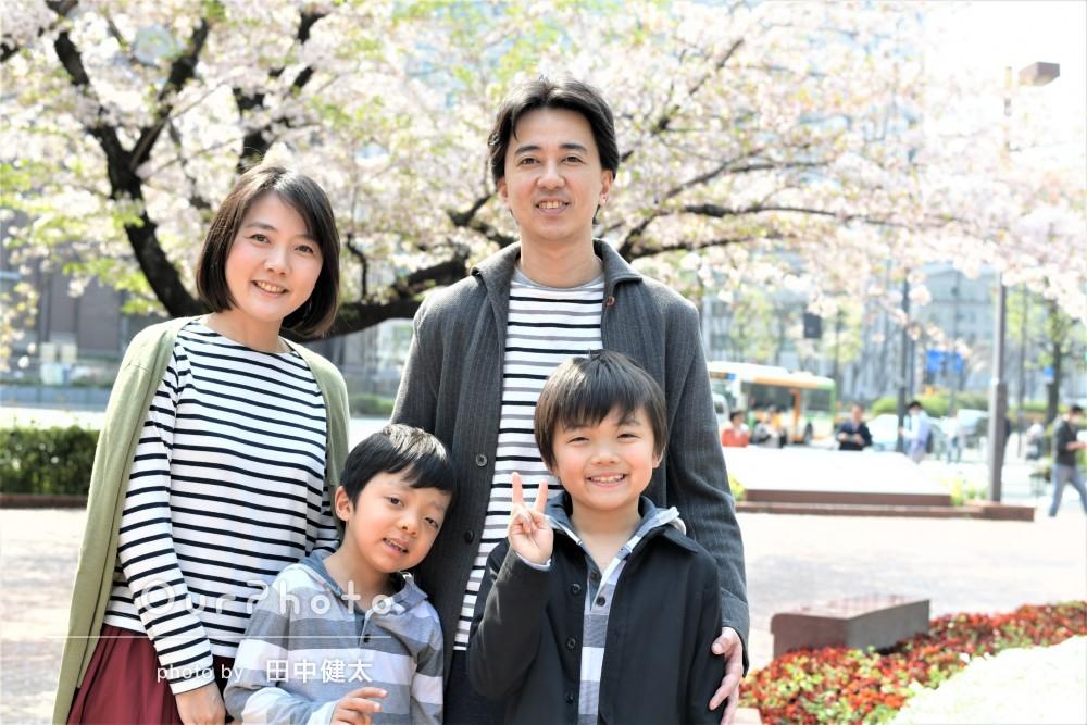 「撮影場所についてもアドバイスして下さりました」家族写真の撮影