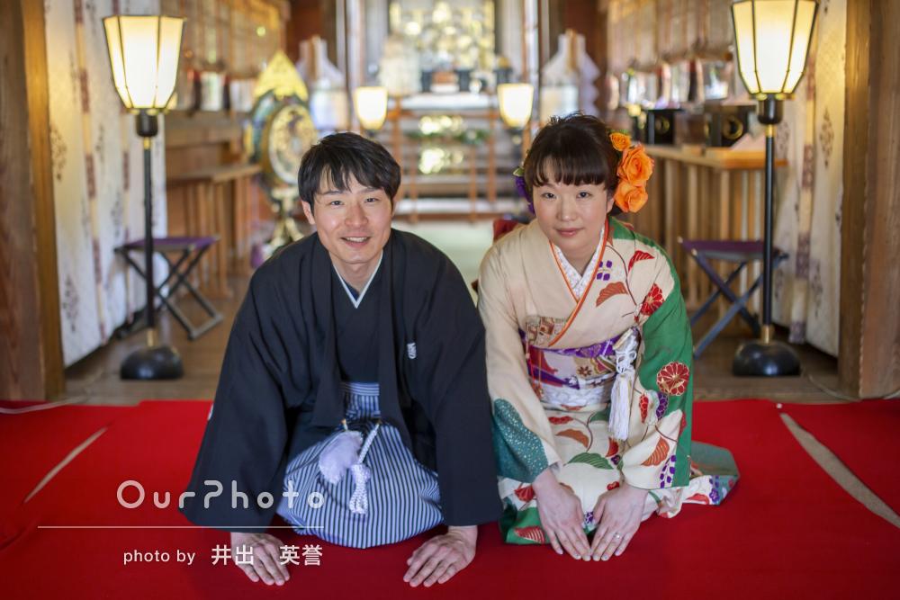 「欲しかった写真は全て撮れました」神社での結婚式の撮影