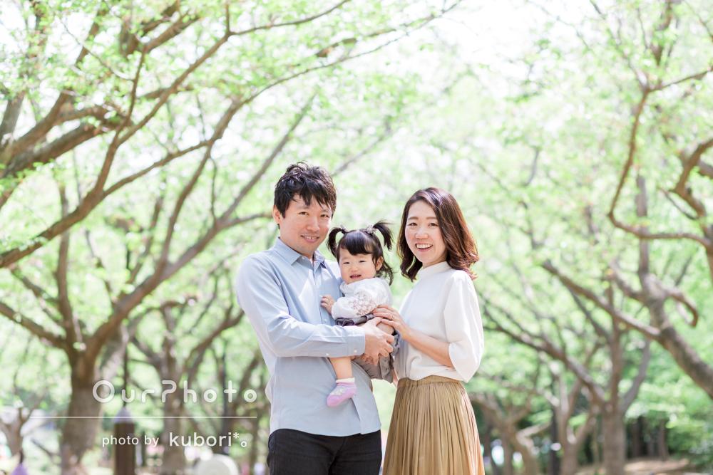 「子供だけでなく親もとても自然な表情をしていました」家族写真の撮影