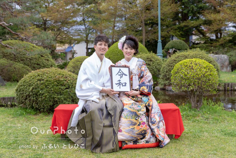 「要望にも全て応えて頂き感謝でいっぱいです!」和装結婚式の撮影