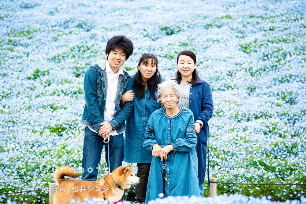 「母も写真の出来上がりを楽しみにしていました」家族写真の撮影