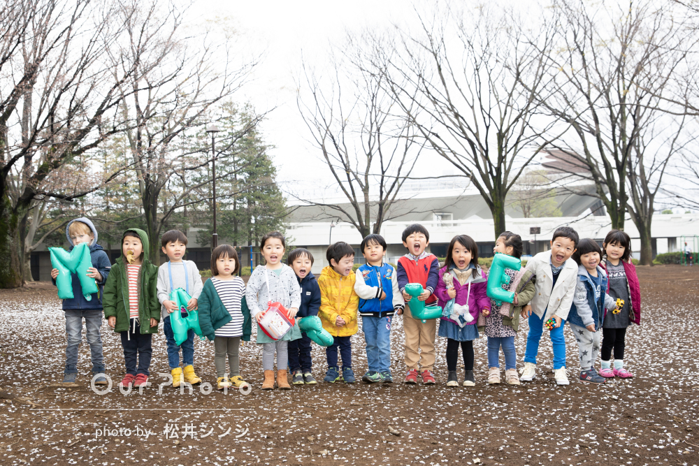 「とても楽しく撮影出来ました」総勢14人の子供たちで友フォトの撮影