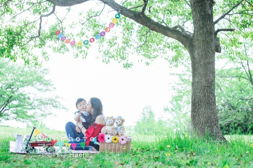 「とても素敵な写真を撮って頂けました!」家族写真の撮影