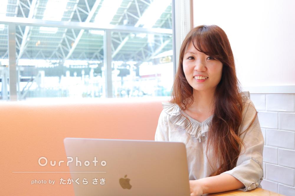 クールな仕事風景からリラックスした笑顔まで!プロフィール写真の撮影