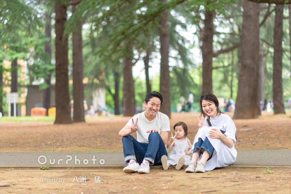 「1枚1枚大切な思い出の写真になりました」家族写真の撮影