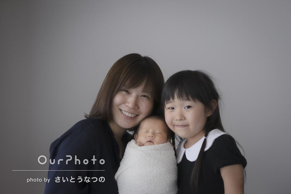 「産後の体調をお気遣いいただき嬉しかった」ニューボーンフォトの撮影