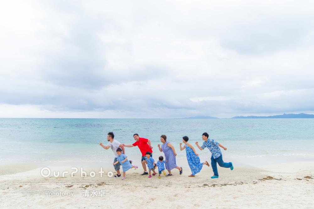 「旅行がさらに思い出深いものに」還暦祝いの沖縄旅行の撮影