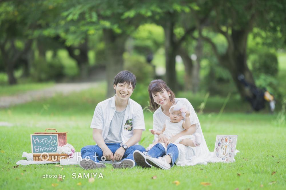 「笑顔の瞬間を逃さず素敵な写真」ほっこり温かい家族写真の撮影