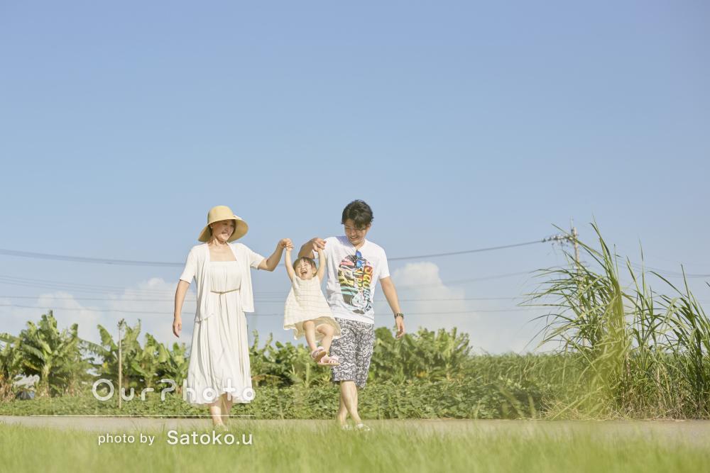 「また、ぜひとって頂きたいです!」沖縄での家族写真の撮影