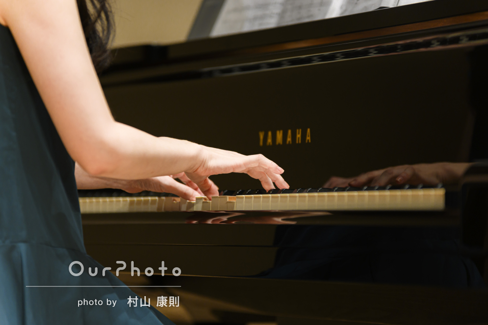 「無駄のないプロフェッショナルな動きに驚き」ピアノコンサートの撮影