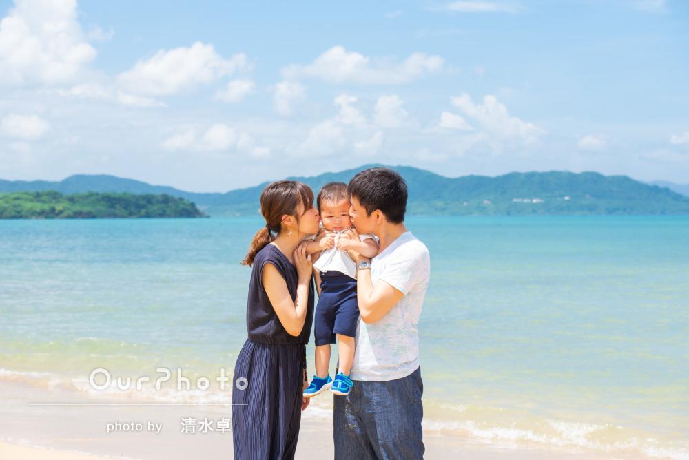 「とても素敵な写真ばかり」沖縄石垣島への家族旅行の撮影