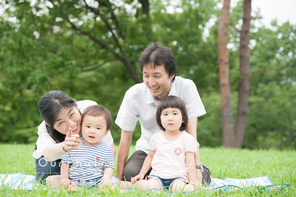 「人見知りの子どもも柔らかな雰囲気ですぐに慣れました」家族写真の撮影