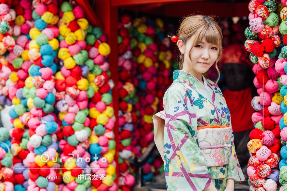 はんなり美しい!京都にて着物で和を感じる旅行記念のプロフィール写真