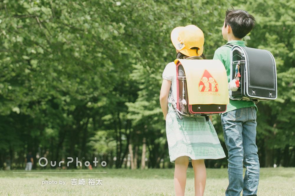 「リラックスした雰囲気の中で、子供たちも笑顔いっぱいの撮影会となりました」家族写真の撮影