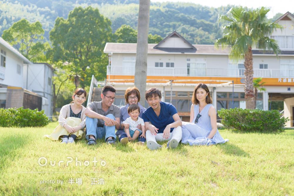 夫婦、親子、兄弟…色んな家族の形を残す家族の記念写真の撮影