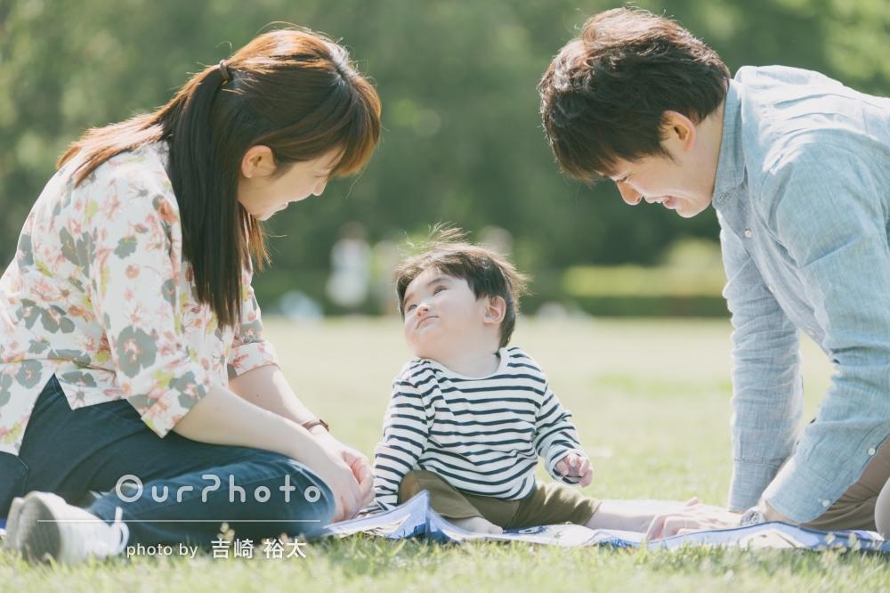「明るく柔らかい感じの家族写真を撮影していただき満足しています!」家族写真の撮影