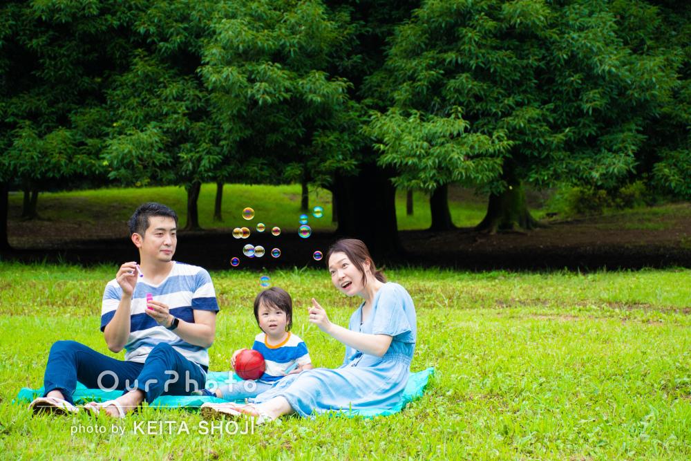 「希望に沿った撮影方法を提案してくださいました」家族写真の撮影