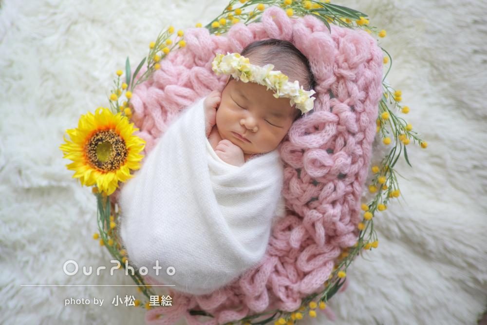 「どれも素敵で家族みんな大喜び」まるで天使!ニューボーンフォト撮影