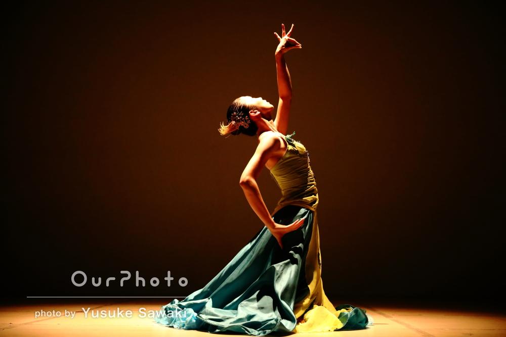 華麗なダンス姿!躍動感のあるプロフィール写真の撮影