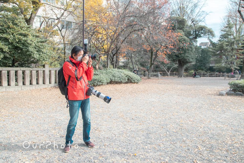 コロナ禍でのお宮参り記念撮影3