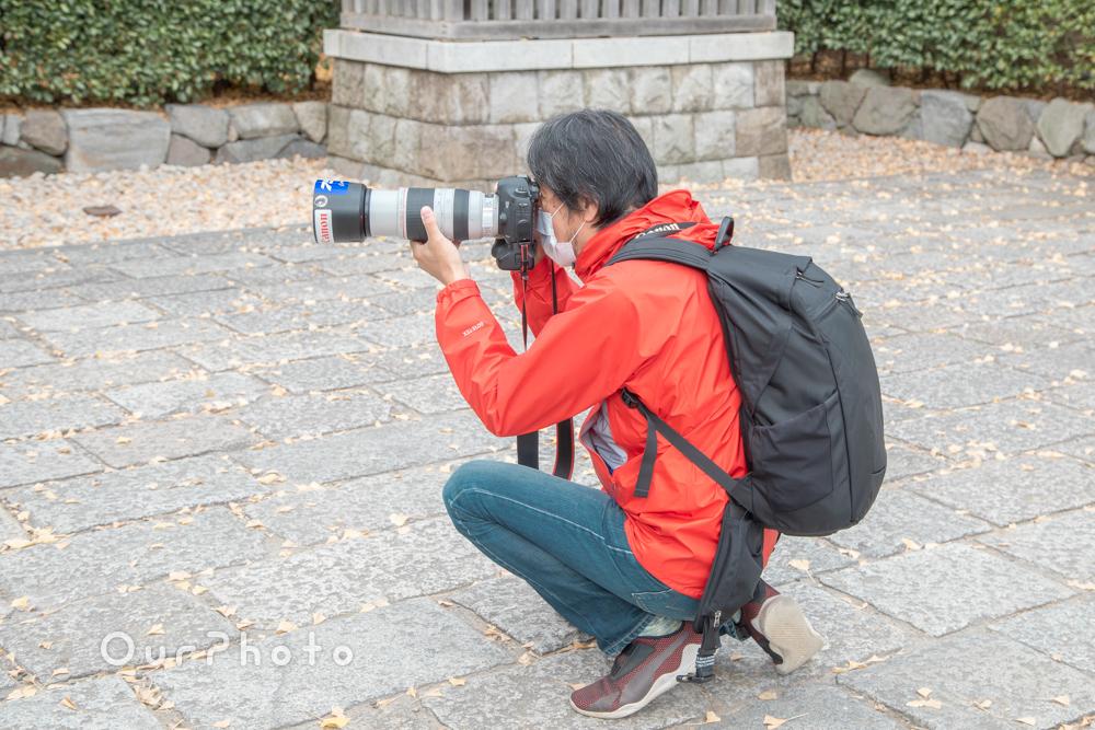 コロナ禍でのお宮参り記念撮影8