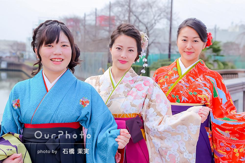【撮影同行レポート Vol.8】大学生の卒業式、学生最後の日に袴姿で