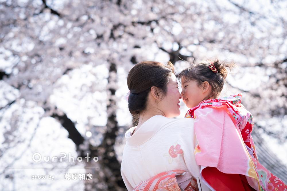 桜_春の七五三前撮り1