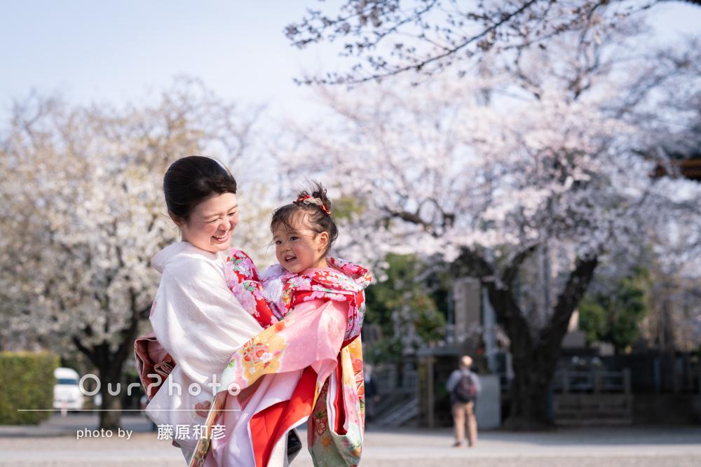 桜_春の七五三前撮り2