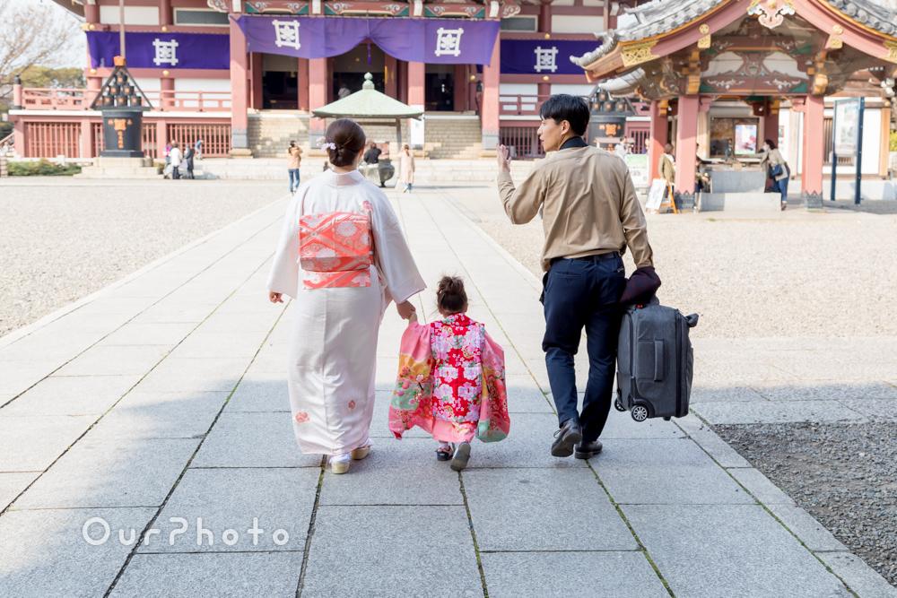 桜_春の七五三前撮り6