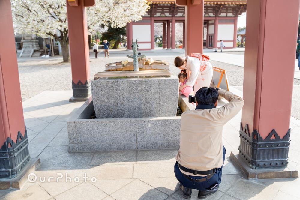 桜_春の七五三前撮り7
