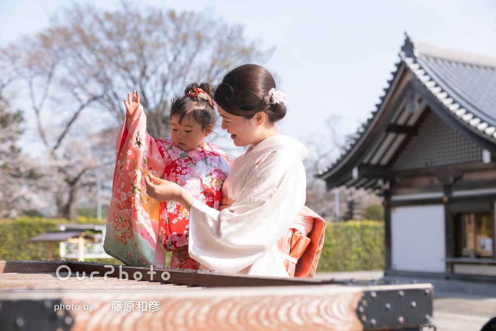 桜_春の七五三前撮り10